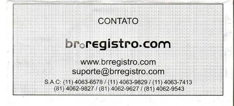 br.registro.com boleto falso emitido pelo brregistro.com
