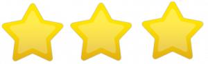 Três estrelas