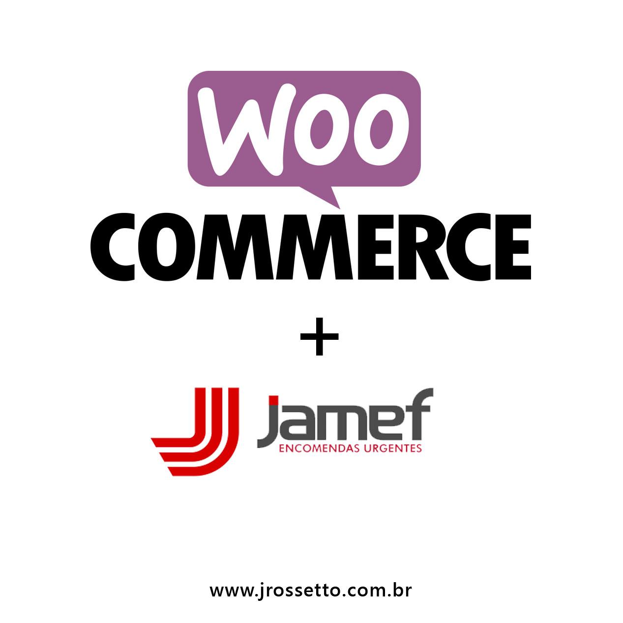 Transportadora Jamef REST- Plugin Woocommerce – WordPress